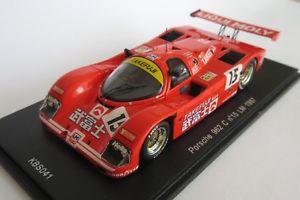 【送料無料】模型車 モデルカー スポーツカー ポルシェ#リチャードロイドレーシングルマンスパークkbsporsche 962 c rlr 15 richard lloyd racing le mans lm 1987 spark 143 kbs041