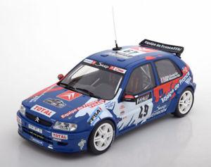 【送料無料】模型車 モデルカー スポーツカー オットーシトロエンキット#ツールドコルスラリーローブ118 otto citroen saxo kit car 49, rally tour de corse loeb 1999