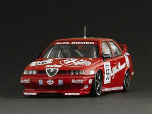 【送料無料】模型車 モデルカー スポーツカー アルファロメオ#ダカールラリーalfa romeo 155 ts 55 gtarquini btcc 1994 143 8124