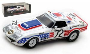 【送料無料】模型車 モデルカー スポーツカー スパークシボレーコルベット#ジョングリーンウッドルマンスケールspark s5075 chevrolet corvette c3 72 john greenwood le mans 1972 143 scale
