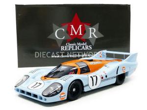 【送料無料】模型車 モデルカー スポーツカー ポルシェロングテールルマンcmr 118 porsche 917 long tail gulf le mans 1971 cmr044