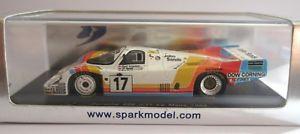 【送料無料】模型車 モデルカー スポーツカー ポルシェ#クレーメルレースルマンスパークporsche 956 17 kremer racing 9th le mans lm 1984  143 spark s3409