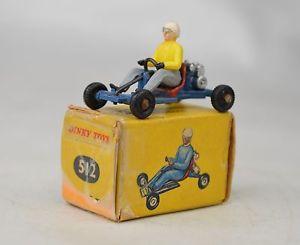 【送料無料】模型車 モデルカー スポーツカー フランス#カートカートインチミントボックスfrench dinky 512 leskokart midget kart 19621966 1 14 long near mint wbox