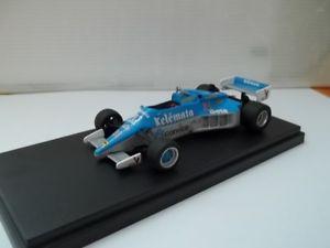 【送料無料】模型車 モデルカー スポーツカー アルファロメオディcpmodel sc143 osella alfa romeo f1fa1e gp di germania 1983 fabi