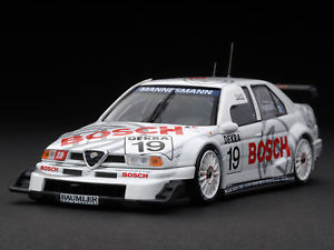 【送料無料】模型車 モデルカー スポーツカー アルファロメオボッシュ#レーシングalfa romeo 155v6 ti itc bosch 19 hattori dtm 1996 hpi racing 143 8098