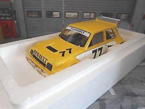 【送料無料】模型車 モデルカー スポーツカー ルルノーターボレースターボ#オットーrenault 5 gr4 le car turbo racing imsa turbo 77 1981 otto resin neu 118