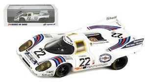 【送料無料】模型車 モデルカー スポーツカー スパーク#ルマンマルコヴァンスケールspark 43lm71 porsche 917 22 le mans winner 1971 markovan lennep 143 scale