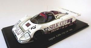 【送料無料】模型車 モデルカー スポーツカー スパークジャガーシルクカットルマン#spark 143 jaguar xjr6 silk cut lm le mans 1986 52 s0756