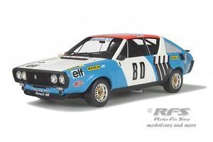 【送料無料】模型車 モデルカー スポーツカー ルノーラリーヘンリーオットーrenault r17 gordini rallye vercorsvivarais 1975 therier 118 otto 207