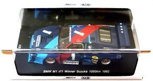 【送料無料】模型車 モデルカー スポーツカー スパーク#キロkbsspark 143 bmw m1 1 winner suzuka 1000km 1982  kbs064  rare