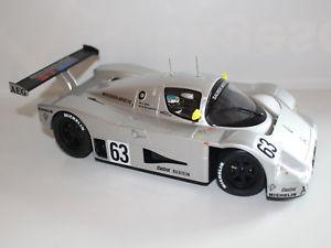 【送料無料】模型車 モデルカー スポーツカー シューマッハザウバードライバーニュルブルクリンク118 schumacher mass sauber c9 2 platz nrburgring mit fahrerfigur
