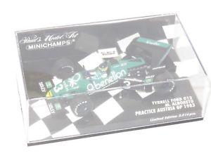 【送料無料】模型車 モデルカー スポーツカー ティレルフォードベネトンオーストリア143 tyrrell ford 012 benetton  austrian gp practice 1983 malboreto