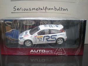 【送料無料】模型車 モデルカー スポーツカー フォードフォーカスラリーモンテカルロ#autoart 80112 ford focus rs wrc 2001 17 rally monte carlo delacour 118