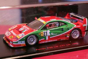 【送料無料】模型車 モデルカー スポーツカー フェラーリルマンレッドラインferrari f40 lm n41 ennea brummel fat 24h du mans 95 143 red line rl056