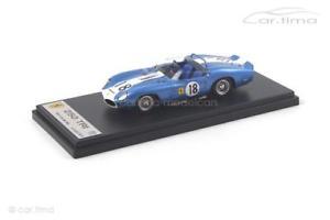 【送料無料】模型車 モデルカー スポーツカー フェラーリルマンライアンスマートferrari tri61 24h le mans 1962 ryan fulp looksmart 143 lslm045