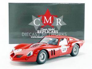 【送料無料】模型車 モデルカー スポーツカー フェラーリキロニュルブルクリンクcmr 118 ferrari 250 gt drogo 1000 km nurburgring 1963 cmr097