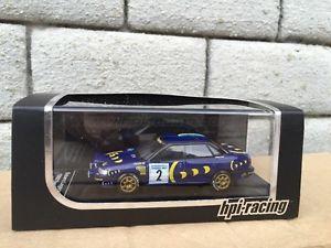 【送料無料】模型車 モデルカー スポーツカー コリンマクレースバルレガシィスウェーデンラリー#rare colin mcrae subaru legacy rs 2 1993 swedish rally hpi 8275 143 sti wrx