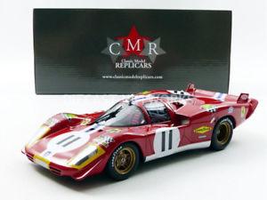 【送料無料】模型車 モデルカー スポーツカー フェラーリロングテールルマンcmr 118 ferrari 512 s long tail le mans 1970 cmr025