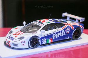 【送料無料】模型車 モデルカー スポーツカー リアレフルマンmac laren f1 gtr n38 bmw bigazzi slr 11 24h mans 96 very rar 143 no hpitsm