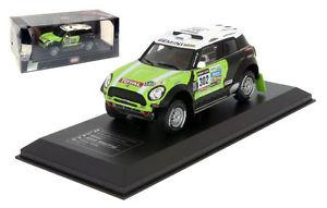 【送料無料】模型車 モデルカー スポーツカー ネットワークミニレースダカールラリーステファンペテランセルスケールixo mini all4 racing winner dakar rally 2013 stephane peterhansel 143 scale