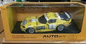 【送料無料】模型車 モデルカー スポーツカー ダッジバイパーニュルブルクリンクdodge viper gtsrautoart  118 24 hours nurburgring  1   rare