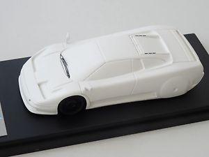 【送料無料】模型車 モデルカー スポーツカー モデルブガッティバージョンalezan models 143 bugatti eb 110 1er nose version wind tunnel