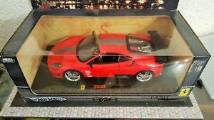 【送料無料】模型車 モデルカー スポーツカー ユニークフェラーリカスタムエリートパーツレッドチューニングunique ferrari f430 hotwheels 118 custom tuning perso elite parts red
