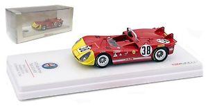 【送料無料】模型車 モデルカー スポーツカー スケールアルファロメオ#デルタスパモンツァキロスケールtruescale alfa romeo tipo 333 38 autodelta spa monza 1000km 1970 143 scale