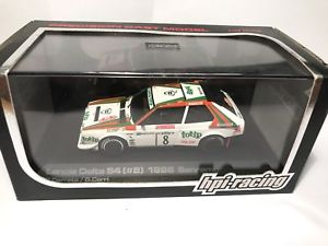 【送料無料】模型車 モデルカー スポーツカー ランチアデルタラリーディサンレモレーシングlancia delta s4 143 rally di sanremo 1986 cerratocerri hpi racing