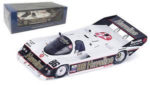 【送料無料】模型車 モデルカー スポーツカー ポルシェスパーク#セブリングスケールspark 43se88 porsche 962 86 havoline winner 12h sebring 1988 143 scale