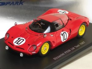 【送料無料】模型車 モデルカー スポーツカー スパークテストルマン#spark 143 bizzarrini p538 test le mans 1967 10 lm s0392 neu ovp