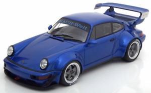 【送料無料】模型車 モデルカー スポーツカー ポルシェソフトウェアライセンスラフグアテマラporsche 911 964 rwb rauhwelt gt spirit zm100 neuamp;ovp 118
