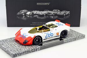 【送料無料】模型車 モデルカー スポーツカー ポルシェスパイダー#タルガフローリオporsche 90802 spyder 266 winner targa florio 1969 mitter, schtz 118 minicha