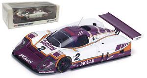 【送料無料】模型車 モデルカー スポーツカー スパークジャガー#カットルマンスケールspark 43lm88 jaguar xjr9 2 silk cut le mans winner 1988 143 scale