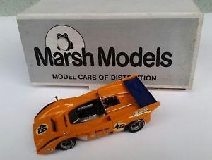 【送料無料】模型車 モデルカー スポーツカー マクラーレンダンガーニー#マーシュモデルmclaren m8d, dan gurney 48, marsh models, 143