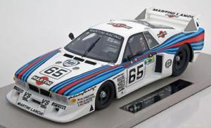 【送料無料】模型車 モデルカー スポーツカー トップマルケスランチアベータモンテカルロターボ#ルマン118 top marques lancia beta montecarlo turbo 65, le mans 1981