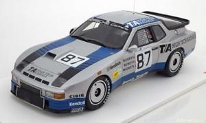 【送料無料】模型車 モデルカー スポーツカー スケールポルシェカレラ#ルマン118 true scale porsche 924 carrera gtr 87, 24h le mans 1982