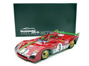 【送料無料】模型車 モデルカー スポーツカー テクノモデルフェラーリキロデスパtecnomodel mythos 118 ferrari 312 pb winner 1000 km de spa 1972 tm1862e