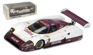 【送料無料】模型車 モデルカー スポーツカー スパークジャガー#カットルマンスケールspark 43lm90 jaguar xjr12 3 silk cut winner le mans 1990 143 scale