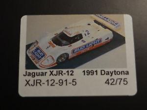 【送料無料】模型車 モデルカー スポーツカー ジャガーデイトナ#autobarn 118 daytona 24h jaguar xjr 12 1991 2 nummer 42 von 75 neu ovp