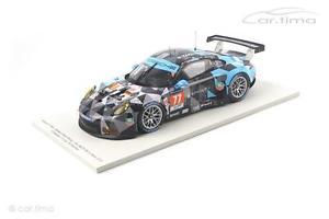 【送料無料】模型車 モデルカー スポーツカー ポルシェルマンデンプシーロングスパークporsche 911 991 rsr 24h le mans 2015 dempsey long seefried spark 1