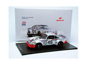 【送料無料】模型車 モデルカー スポーツカー スパークポルシェマルティニルマンspark 118 porsche 911 rsr martini le mans 1973 18s060