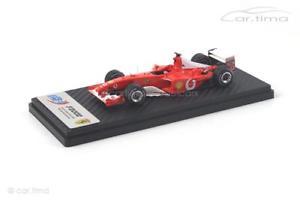 【送料無料】模型車 モデルカー スポーツカー フェラーリフランスグランプリミハエルシューマッハferrari f2002 french gp 2002 michael schumacher bbr 143 bbrcs002