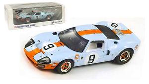 【送料無料】模型車 モデルカー スポーツカー スパークフォード#ルマンロドリゲスビアンキスケールspark 43lm68 ford gt40 9 le mans winner 1968 rodriguezbianchi 143 scale
