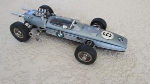 【送料無料】模型車 モデルカー スポーツカー ビンテージフォーミュラレースカードイツオープンホイールschuco 1072 vintage bmw formula 2 race car made w germany open wheel toy wind up