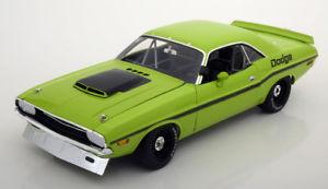 【送料無料】模型車 モデルカー スポーツカー ダッジチャレンジャーグリーンブラック