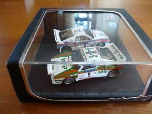 【送料無料】模型車 モデルカー スポーツカー レーシングランチアツールドコルス143 hpi racing cret lancia 037 tour de corse 1984