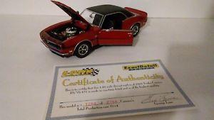 【送料無料】模型車 モデルカー スポーツカー レッドハットカマロシリーズスケールred 1968 yenko rsss 427 camaro exact details series 118 scale