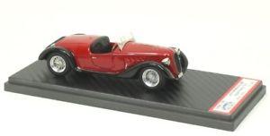 【送料無料】模型車 モデルカー スポーツカー アルファロメオスパイダーneues angebotalfa romeo 6c 2300 spyder brianza 1937
