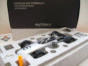 【送料無料】模型車 モデルカー スポーツカー ポルシェフォーミュラ#チョニュルブルクリンクporsche 804 formula 1 8 jo bonnier nrburgring 1962, autoart 118, ovp
